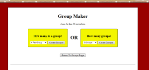 groupmaker